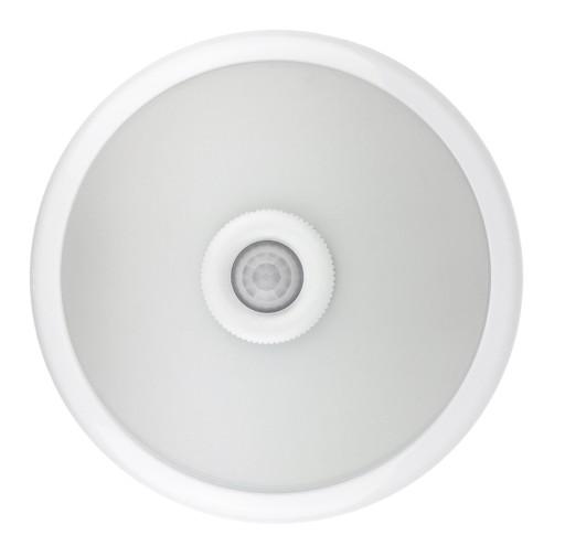PLAFON 2xE27 do LED z czujnikiem ruchu i zmierzchu