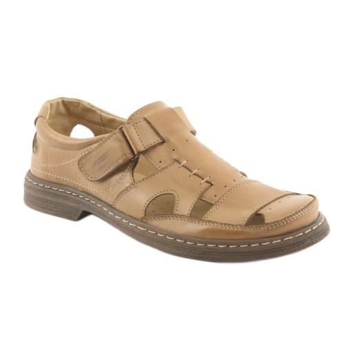 Sandały męskie Pełne sandały Naszbut 968 r.45 9987419708 Obuwie Męskie Męskie XV OHEBXV-6