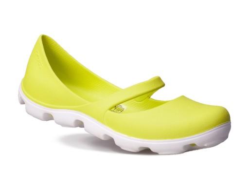 Wygodne Damskie BUTY Balerinki gumowe Crocs