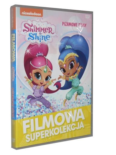 DVD - SHIMMER I SHINE - PIŻAMOWE DŻINY - folia