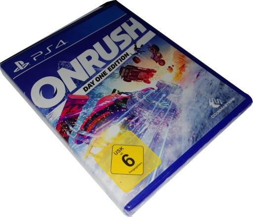 ONRUSH / PS4 / PL DUBBING / WYŚCIGI