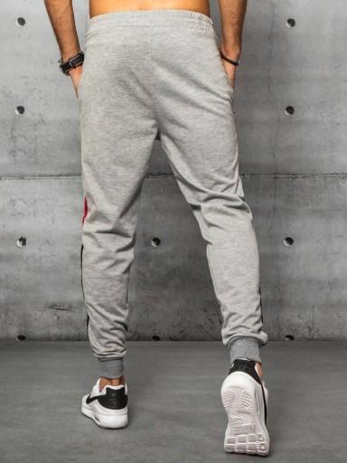 MĘSKIE SPODNIE DRESOWE JOGGERY ux3241 - XL 10719639394 Odzież Męska Spodnie FG TXAMFG-4
