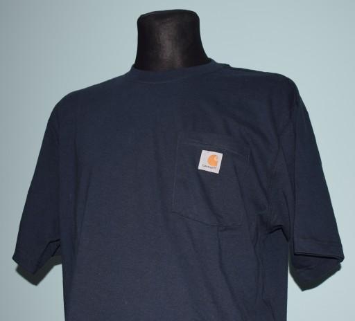 CARHARTT t-shirt z USA r.M 10622640112 Odzież Męska T-shirty BK EFSZBK-5