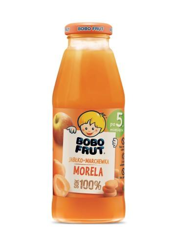 BOBO FRUT sok jabłko marchewka morela 300ml