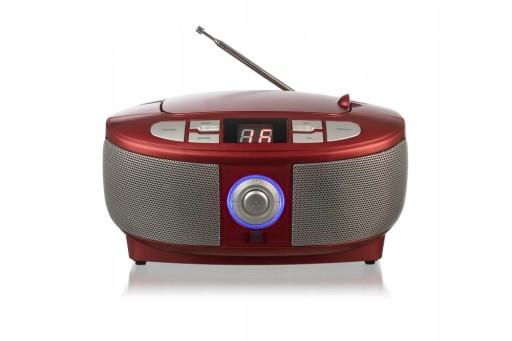 *BOOMBOX RADIO PRZENOŚNE CD FM AUX IN 5 KOLORÓW