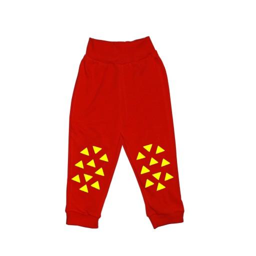Spodnie 80 Do Raczkowania Abs Antyposlizg Czerwony 8746975273 Allegro Pl