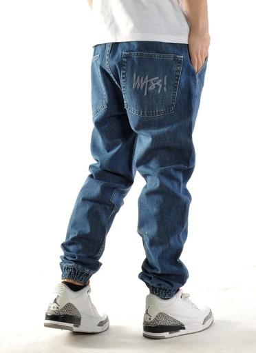 Spodnie 34 Mass Denim Signature Jeans Jogger Mid 10481161211 Odzież Męska Spodnie UQ ATWGUQ-1