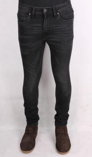 ADPT jeansy SKINNY DOPASOWANE szare RURKI 30/32 10724286840 Odzież Męska Jeansy IJ HBGQIJ-5