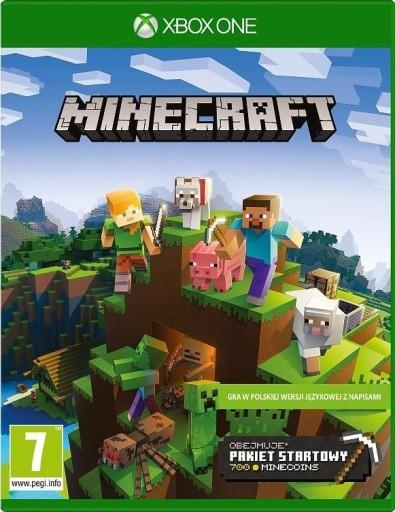 Gra Xbox One Minecraft Pakiet Startowy 109 Zl Stan Nowy Gra Akcji 9220822832 Allegro Pl