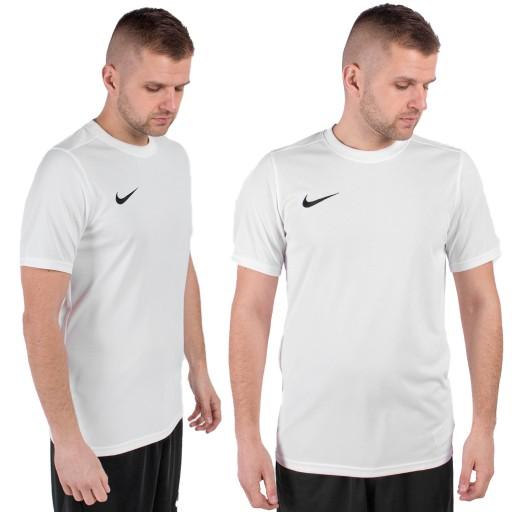 XXL Koszulka Nike Park VII BV6708 100 biały XXL 10604959096 Odzież Męska T-shirty OG CYLNOG-5
