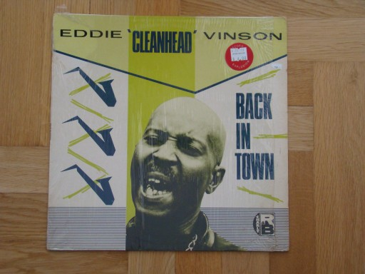 EDDIE CLEANHEAD VINSON - BACK IN TOWN.