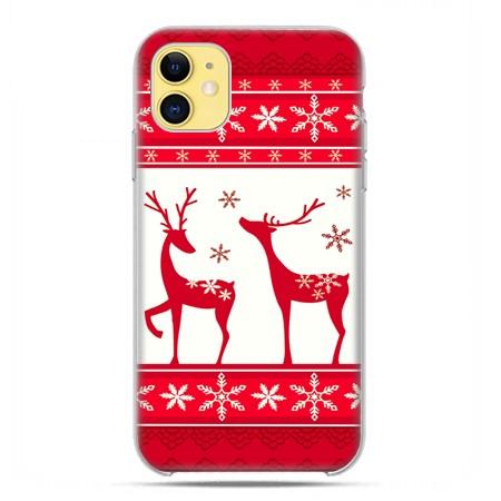 Etui Na Iphone 11 Swiateczne Czerwone Renifery 8641631000 Sklep Internetowy Agd Rtv Telefony Laptopy Allegro Pl