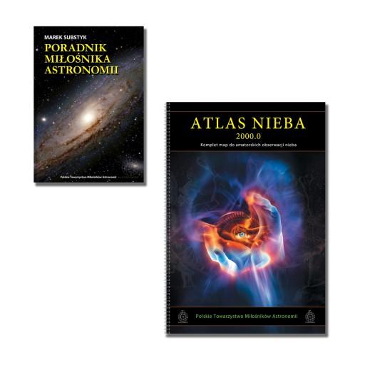 Poradnik Miłośnika Astronomii + Atlas Nieba 2000.0