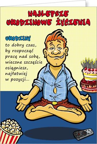 Na urodziny obrazki facet Śmieszne życzenia