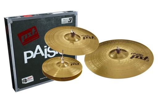 Zestaw talerzy perkusyjnych Paiste PST3 14 16 20