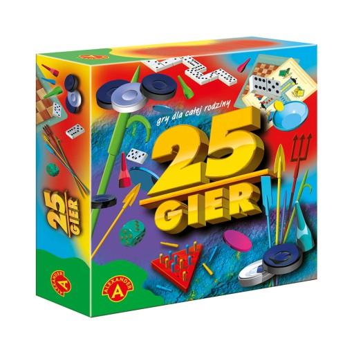 25 Gier Zestaw Gry Planszowe Rodzinne Alexander Pl 32 70 Zl 8650313907 Allegro Pl