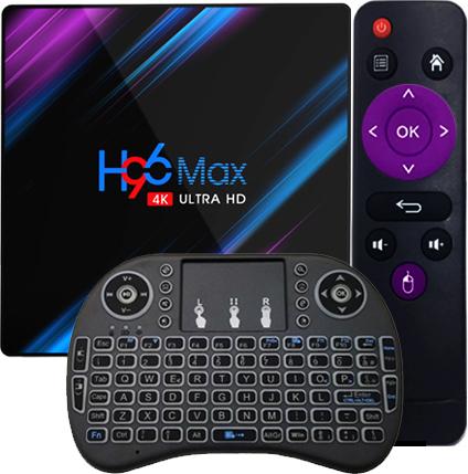H96 Max 4 64gb Android Smart Tv Box Kodi Netflix 8373422214 Sklep Internetowy Agd Rtv Telefony Laptopy Allegro Pl