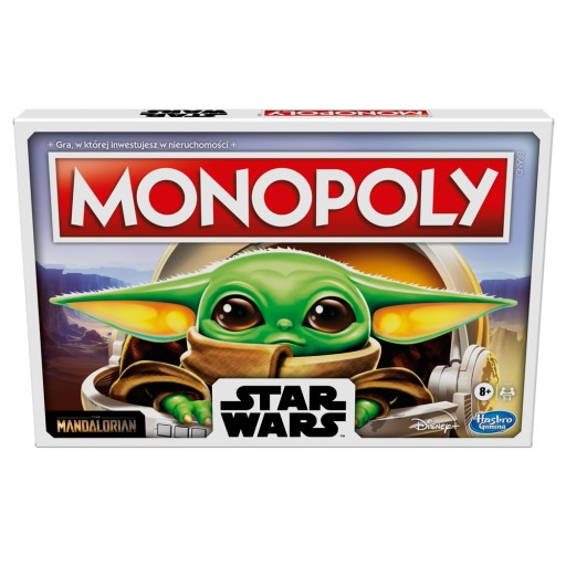 HASBRO Gra Monopoly Star Wars The Child F2013