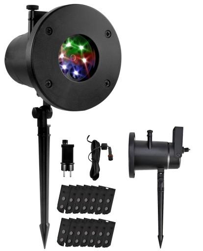 Projektor Led Na Dom Swiateczny Kolorowy 12 Klisz 9813479275 Allegro Pl