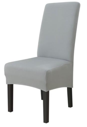 Pokrowiec Na Krzeslo Xl Szary Elastyczny 8681056442 Allegro Pl