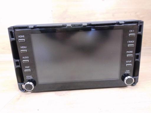 Toyota Corolla E21 19r Radio Wyswietlacz Nawigacji Jasienica Allegro Pl