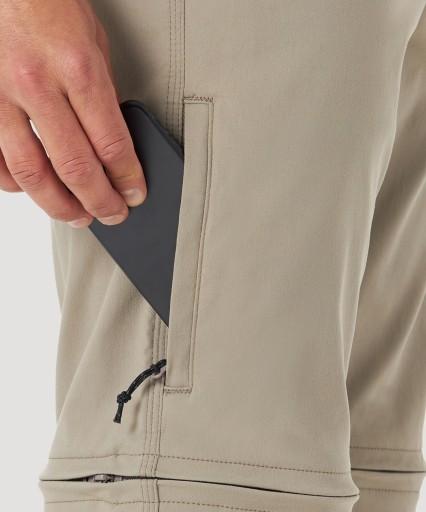 Spodnie ATG Wrangler Zipoff Cargo WA1GS7H24 34/32 10727950992 Odzież Męska Spodnie FW FFLQFW-7