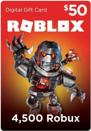Kody Do Robloxa Na Robuxy Get 500 000 Robux Robux Roblox 4500 Kod Aktywacyjny 9109354060 Allegro Pl