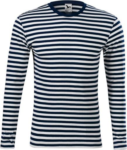 MALFINI 807 koszulka MARYNARSKA długi rękaw 3XL 10709532120 Odzież Męska Koszulki z długim rękawem RN DCNRRN-1