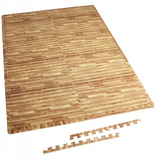 zestaw 6 x mata pod sprzęt puzzle gruba 1,2 cm