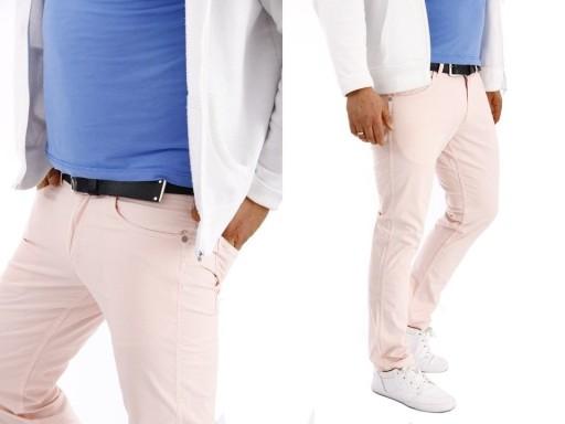 Wrangler Greensboro Peppa Pink spodnie W32 L30 10038658949 Odzież Męska Spodnie YU ZQDUYU-8