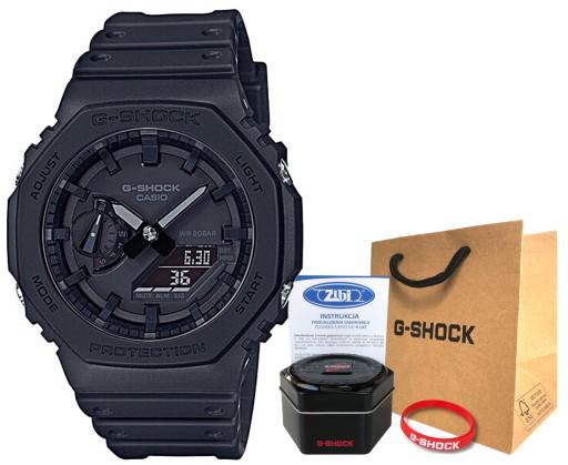 Zegarek Casio G-SHOCK GA-2100-1A1ER hologram