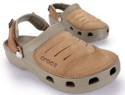 Crocs Yukon Klapki sandały buty dziury Khaki 10710199447 Obuwie Męskie Męskie ZL QHPYZL-3