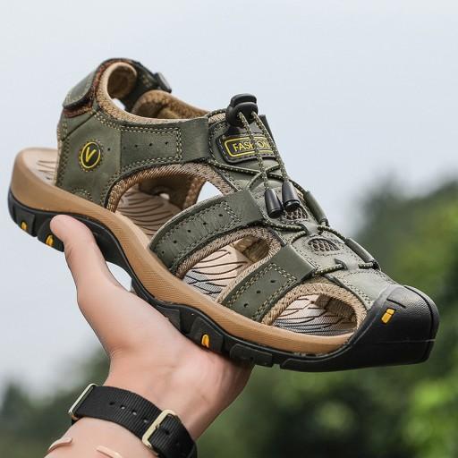 Duży rozmiar Męskie buty sandały Buty plażowe r.48 10665415103 Obuwie Męskie Męskie MK NXBHMK-7