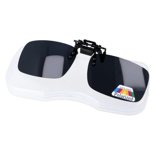 Nakładki na okulary korekcyjne polaryzacyjne