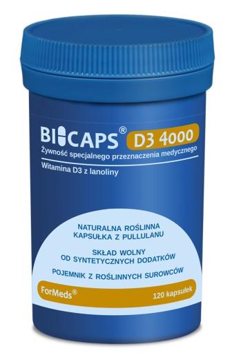 ForMeds|BICAPS D3 4000|Witamina D3