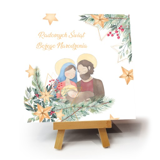 """Kartka bożonarodzeniowa """"ChristMas"""""""