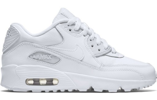 Air Max 90 Se Leather Sneakers In Parpie