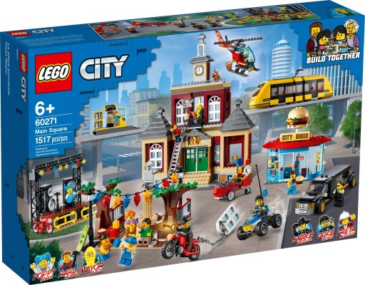 Lego 60271 City Rynek 9675967509 Allegro Pl