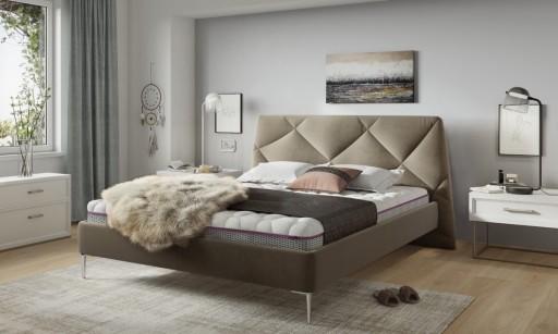 Łóżko tapicerowane Davos 140x200