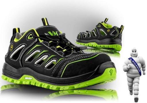 Sandały robocze Michelin ESD oddychające, wygodne 10782074353 Obuwie Męskie Męskie SD XPJKSD-9
