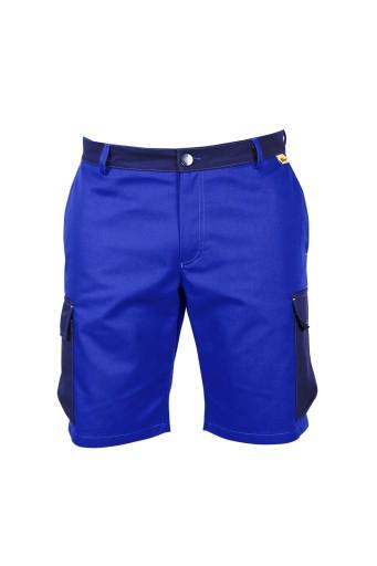 Krotkie Spodenki Spodnie Robocze Niebieskie 60 Xxl 8888380454 Allegro Pl