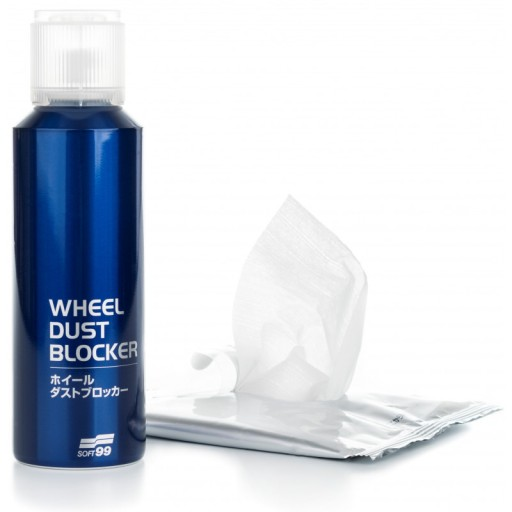 Soft99 Wheel Dust Blocker powłoka do felg - spray