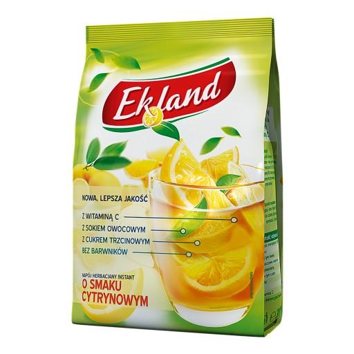 Ekland Napój herbaciany instant cytrynowy 300 g