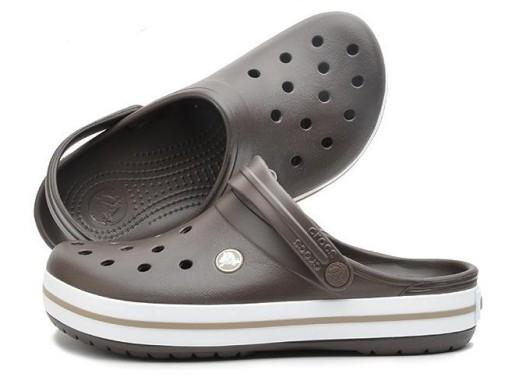 Crocs Klapki sandały buty dziury brązowy 10710212138 Obuwie Męskie Męskie VT ENJRVT-8