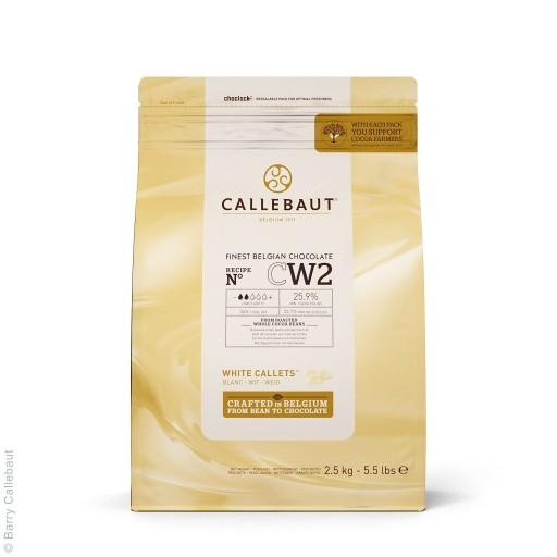 Czekolada BIAŁA do fontann Callebaut 2,5kg CW2