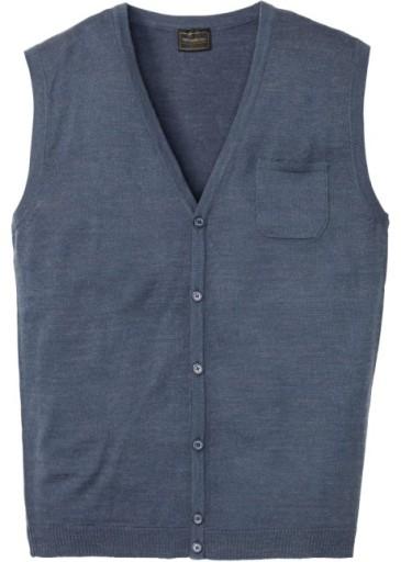 D318 BPC Sweter-kamizelka 52/54 10608236378 Odzież Męska Swetry NF GTZUNF-3