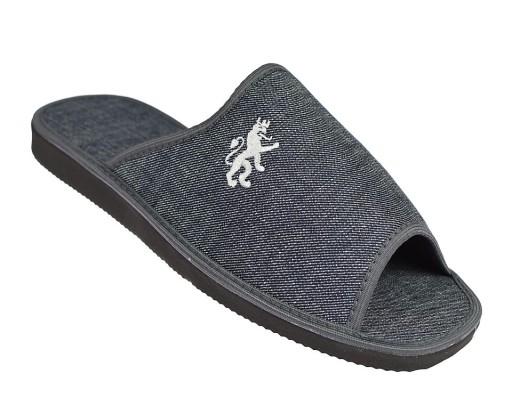 Kapcie męskie domowe klapki pantofle MKS GR r. 43 10583612867 Obuwie Męskie Męskie DA SWNDDA-6