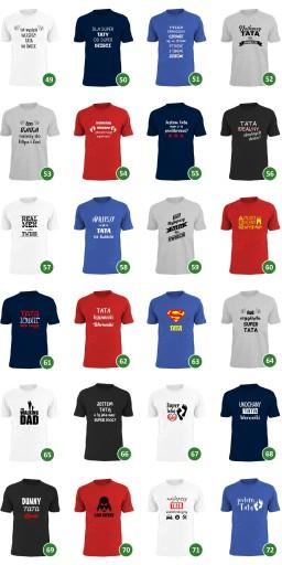 koszulka co jak co ale dzieci to ci się udały TATO 9319216507 Odzież Męska T-shirty MD KWAQMD-1