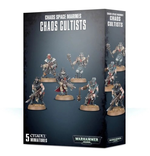 Warhammer 40K CSM Chaos Cultists 35-34