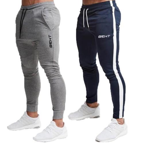 męskie spodnie Męska Wysokiej jakości Marki Męskie 9555567862 Odzież Męska Spodnie FV UFLBFV-1